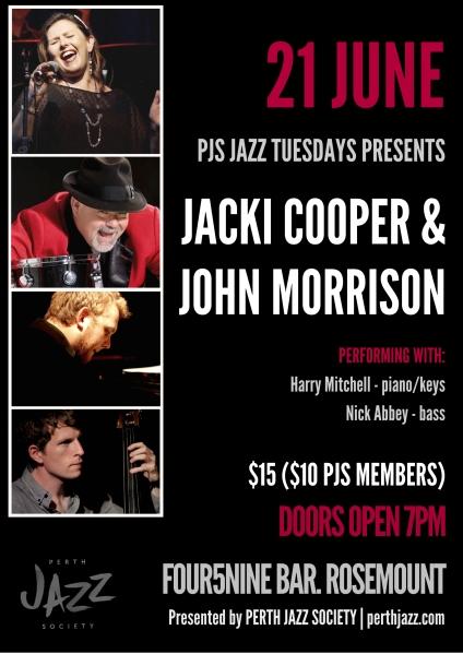 PJS Jacki Cooper & John Morrison Poster - Tess Palmyre