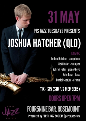 PJS Joshua Hatcher Poster - Tess Palmyre