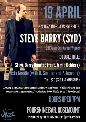 PJS Steve Barry Poster - Tess Palmyre